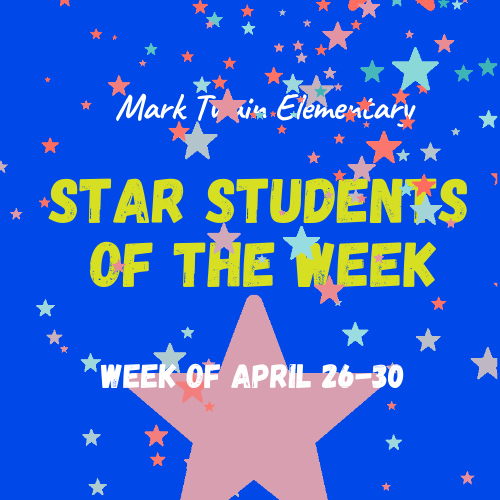 Mark Twain Students of the Week Image