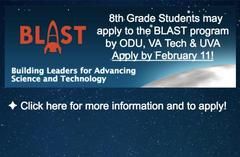 BLAST summer program apply by Feb. 11