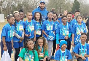 McLaurin Elementary School Compete in BlueCross Blue Shield's Annual Get Ready to Run Fun Run