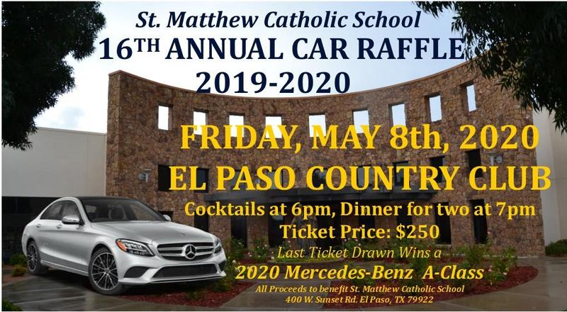 16th Annual Car Raffle Featured Photo