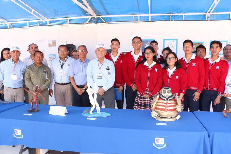 VISITA DE DIRECTIVOS EN EL STAND DEL CECA EN LA XXIII SEMANA DE LA COOPERACIÓN Featured Photo