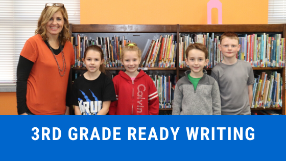 3rd grade ready writing