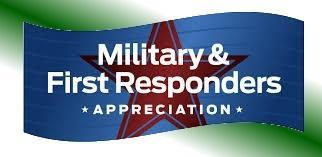 April 23rd Salute the Military and First Responders Thumbnail Image