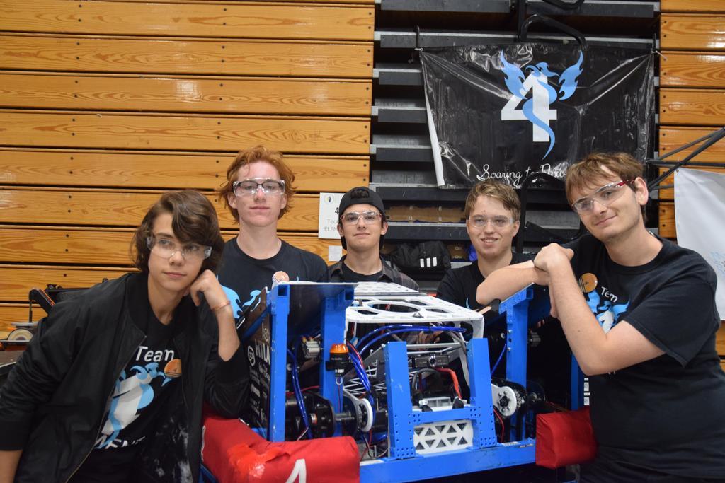 Beach Blitz drive team: Luka, Emerson, Minas, Daniel, Matthew