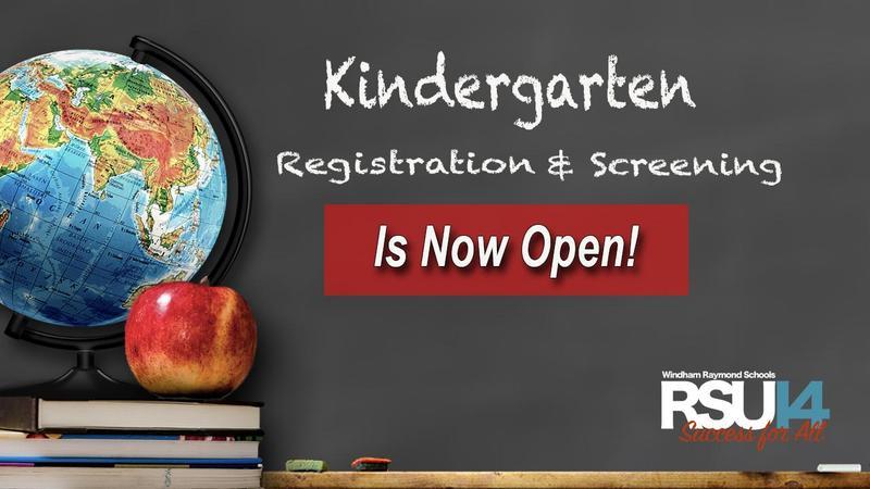 K Registration Now Open