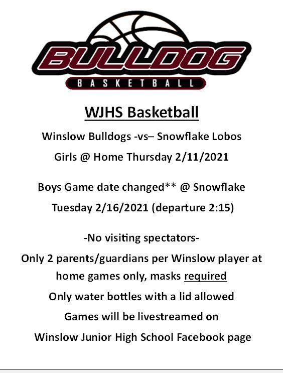 Basketball Winslow vs. Snowflake Featured Photo