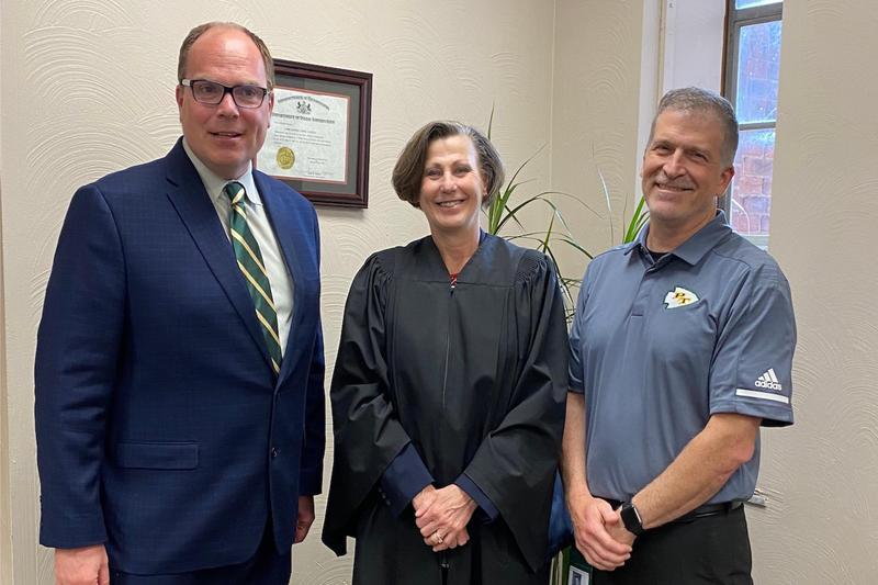 Dr. Harris, Judge Kistler, Mr. Inglese