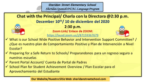 Chat with the Principal Announcement 12-10-2020.png