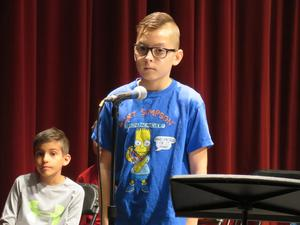 Max Knowles won the spelling bee in the 13th round.