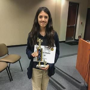 Hemet Unified 42nd Annual Spelling Bee 3rd Place Winner