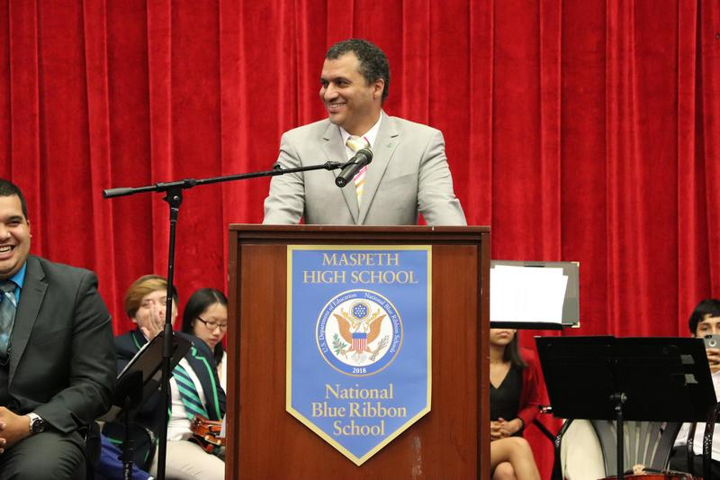 Maspeth High's School Leader Addresses Class of 2019 Graduates Featured Photo