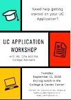 College Workshop Color Flyer
