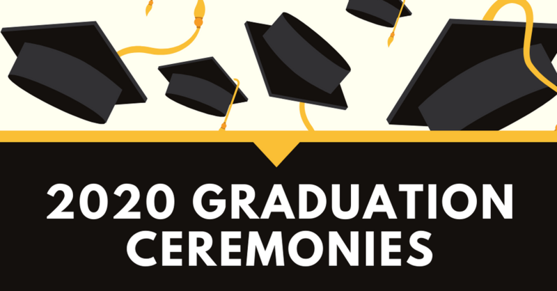 Class of 2020 graduation ceremonies