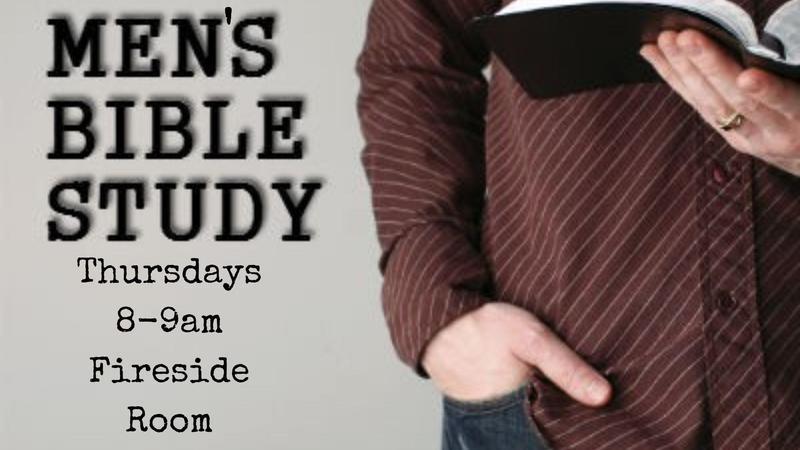 Men's Bible Study - Thursdays 8am Featured Photo