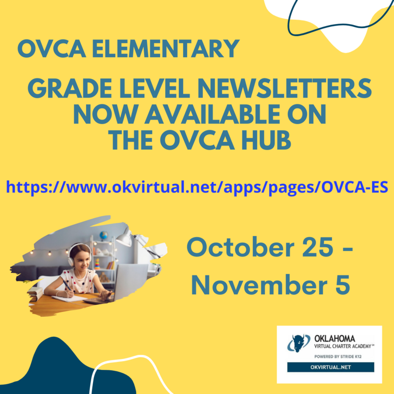 Elementary Grade Level Newsletters Now Available for October 25 - November 5 Featured Photo