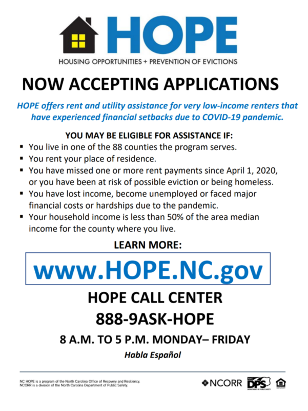 HOPE - Housing Opportunities + Prevention of Evictions Featured Photo