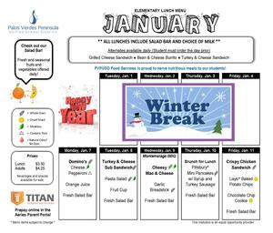 January Lunch Menu pg 1