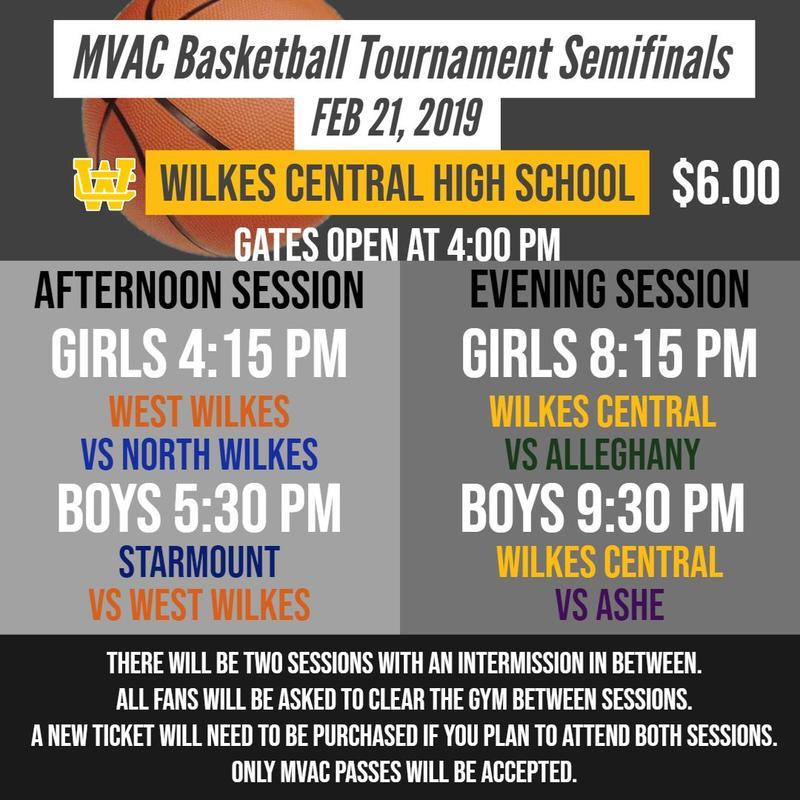 MVAC Basketball Tournament Thumbnail Image