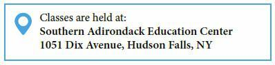 Southern Adirondack Education Center, 1051 Dix Avenue, Hudson Falls, NY