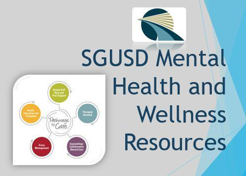 SGUSD Mental Health and Wellness Resources