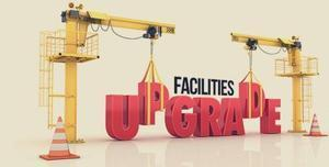 Facilities Upgrade Graphic