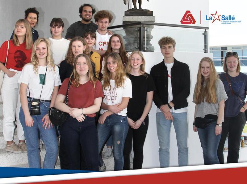 Estudiantes de intercambio del Colegio Grybskov GYMNASIUM Thumbnail Image