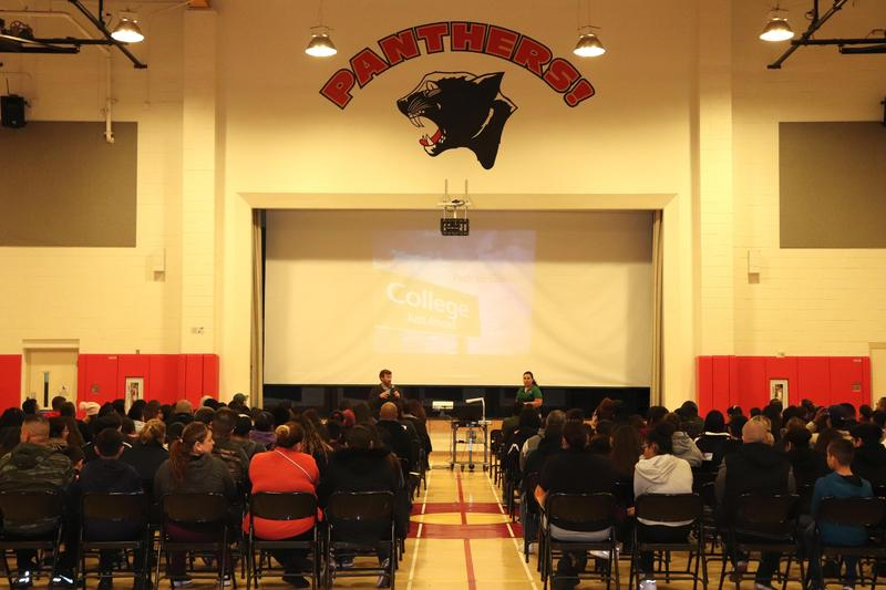 Graves Middle School Hosts Road to College Night Featured Photo