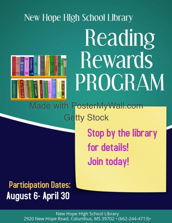 Reading Rewards Program