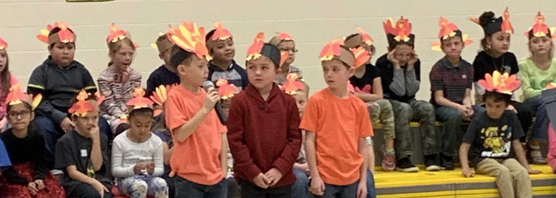 Photo of 2nd Grade Music Program