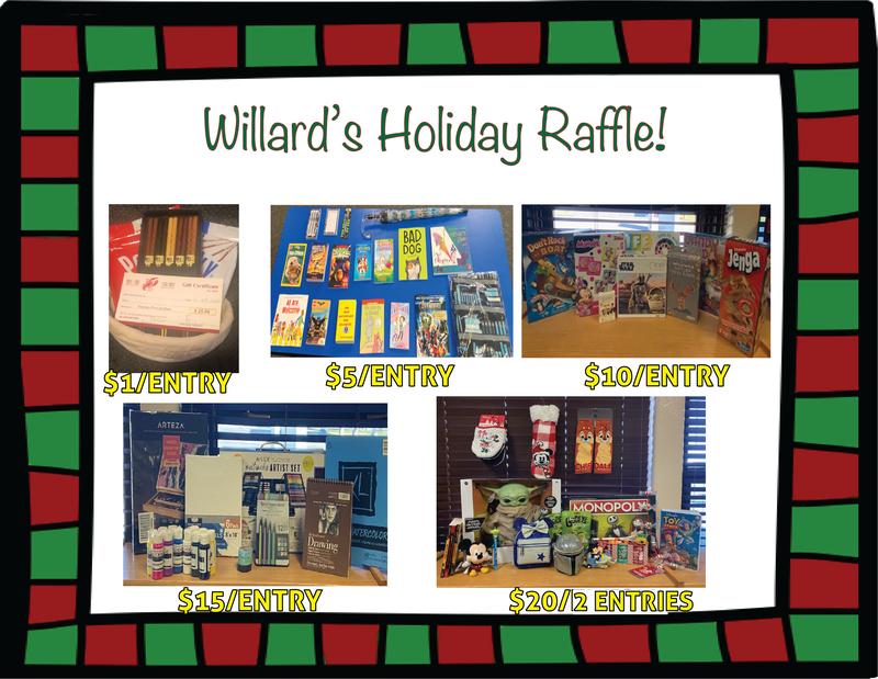 Willard's Holiday Raffle! Thumbnail Image