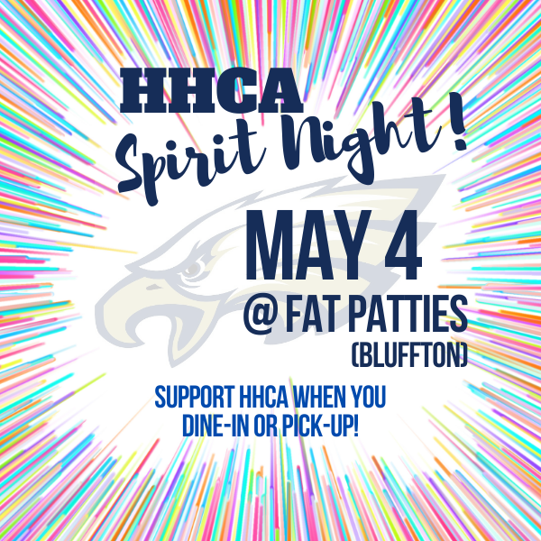 HHCA Spirit Night May 4