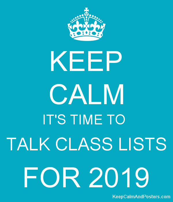 Class Lists 2019 - 2020 Featured Photo