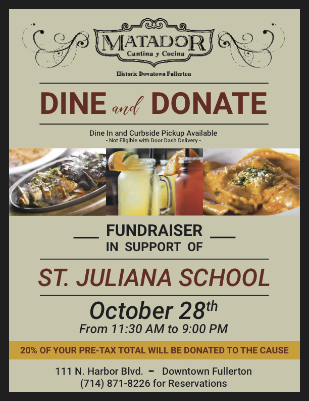 Dine and Donate Featured Photo