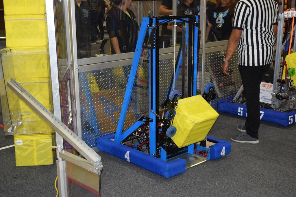 Main robot ready for match