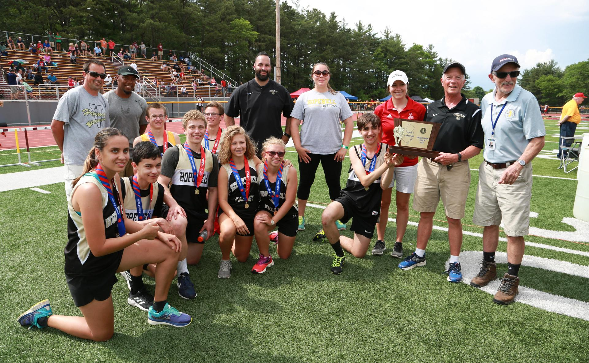 Unified Track Team, 2018 State Champions
