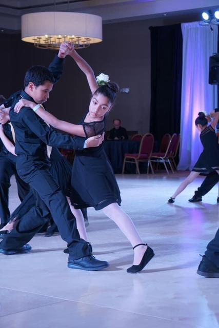 boy and girl in dance move