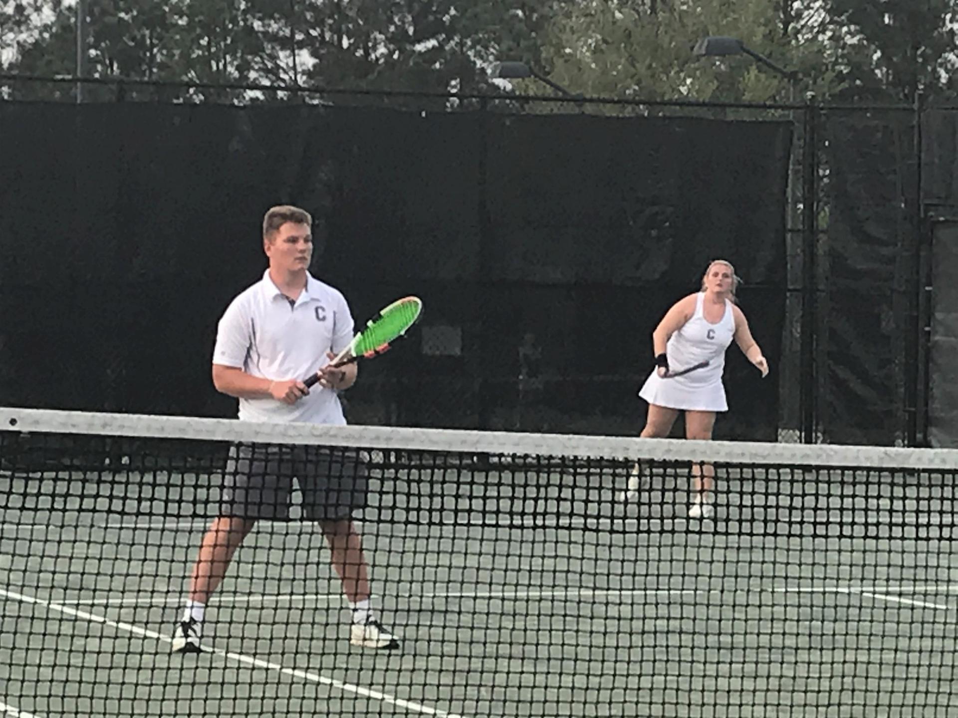 CHS Doubles Tennis