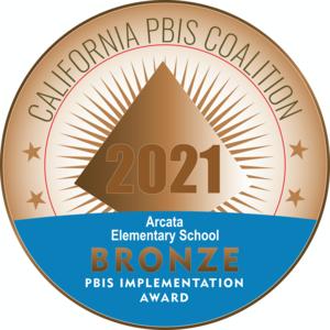 PBIS Bronze level emblem
