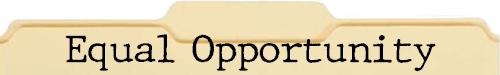 Equal Opportunity File Folder