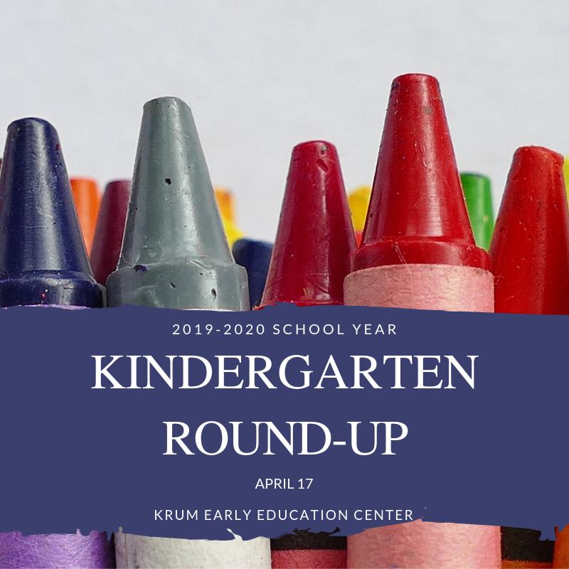 2019-2020 Kindergarten RoundUp Thumbnail Image