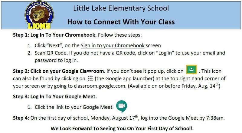 How to connect to your class.