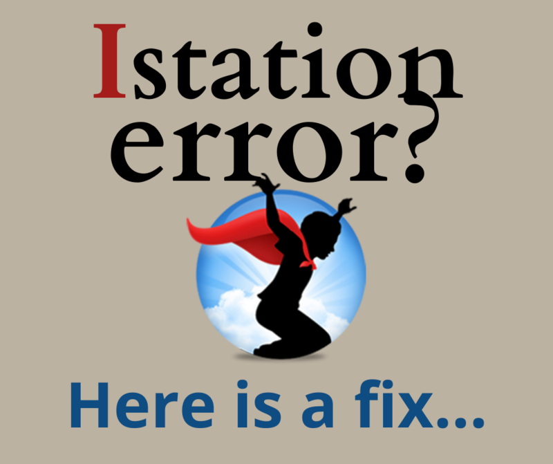 Istation Error