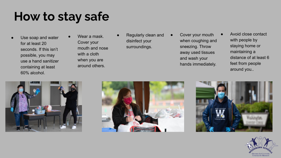 How to stay safe