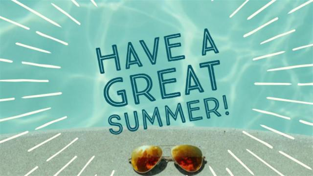 Welcome Summer! Featured Photo