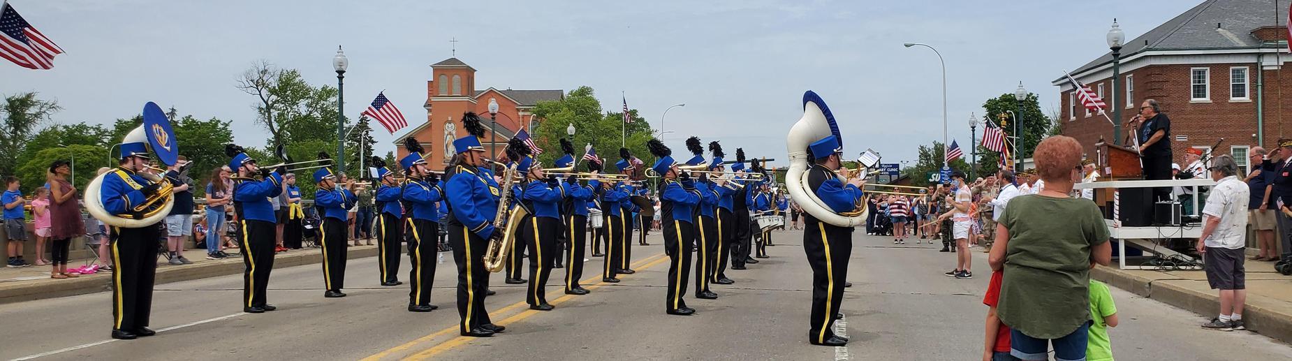 JHS Band at Memorial Day Parade