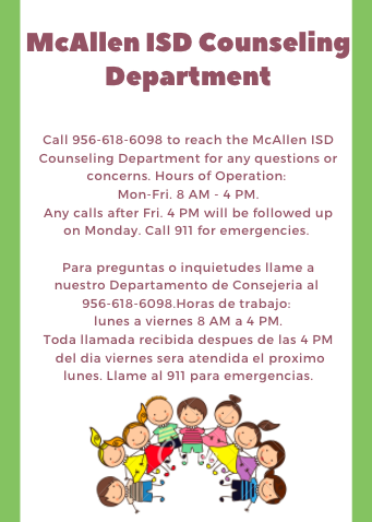 McAllen ISD Counseling Department