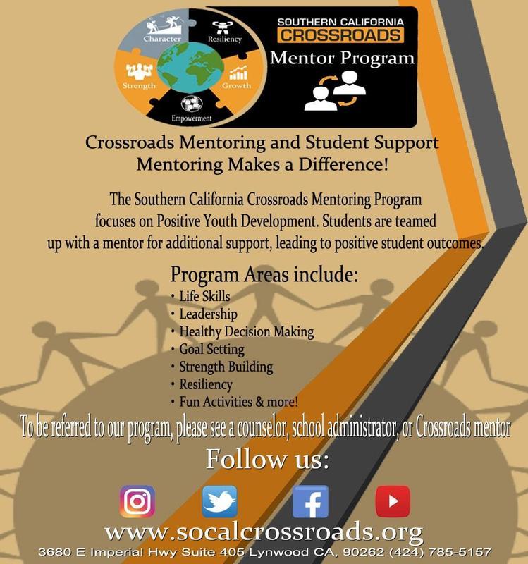 Crossroads ¡Un programa de tutoría que marca la diferencia! Para obtener ayuda adicional para los estudiantes, llámenos. Featured Photo