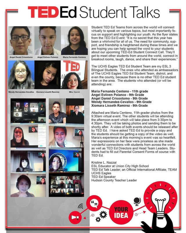 Ted Ed flyer