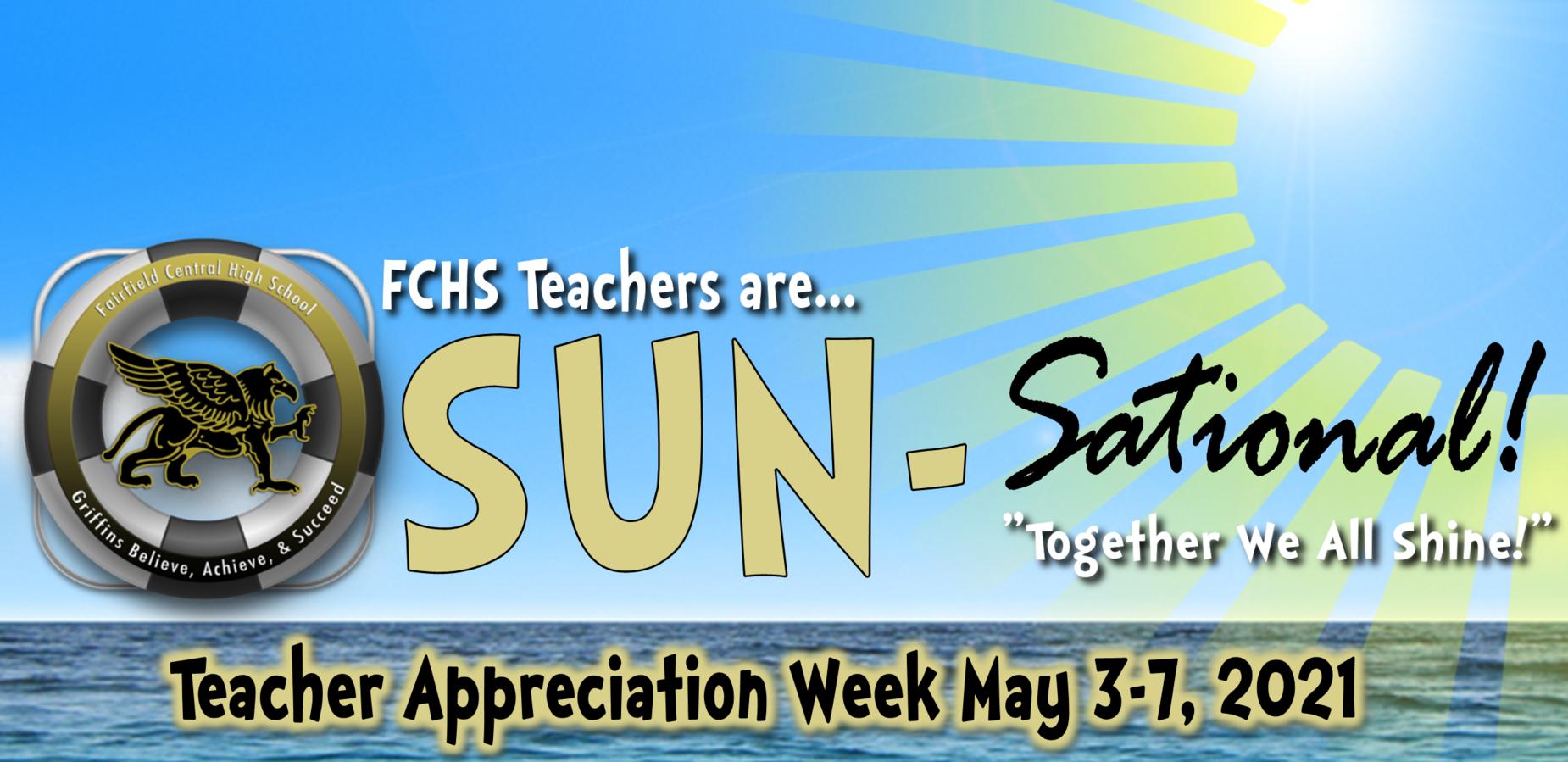 FCHS Teachers are Sun-sational
