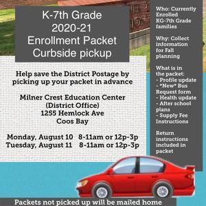 Enrollment Packet PIckup